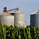 Grain silos photo by Brent Emery; Flickr creative commons license