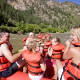Rafting on the Colorado River. Photo courtesy of Glenwood Springs Chamber Resort Association