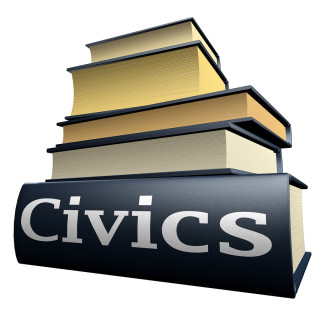 illustration of civics text book