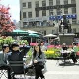 Greeley Square in Manhattan
