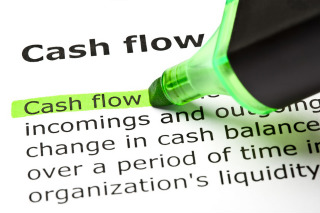 graphic of cash flow