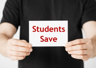 Students save