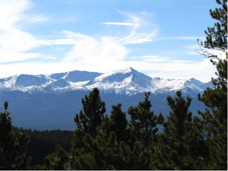 Mt. Elbert: Elevation 14,440 ft outside Leadville, Colorado. Highest mountain in the contiguous United States
