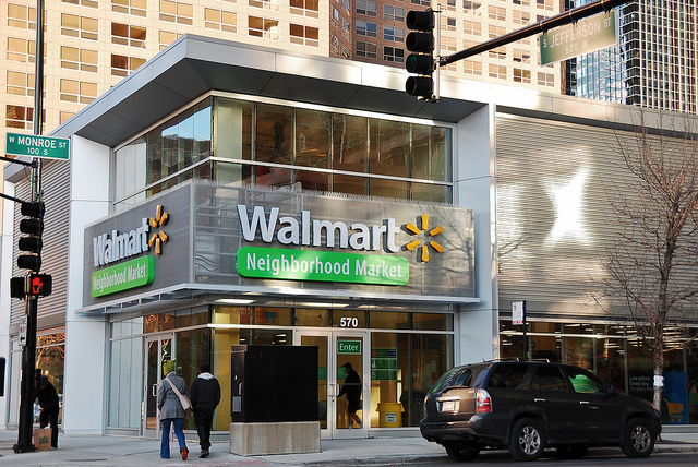 Walmart Stores Go Small And Urban Plannersweb