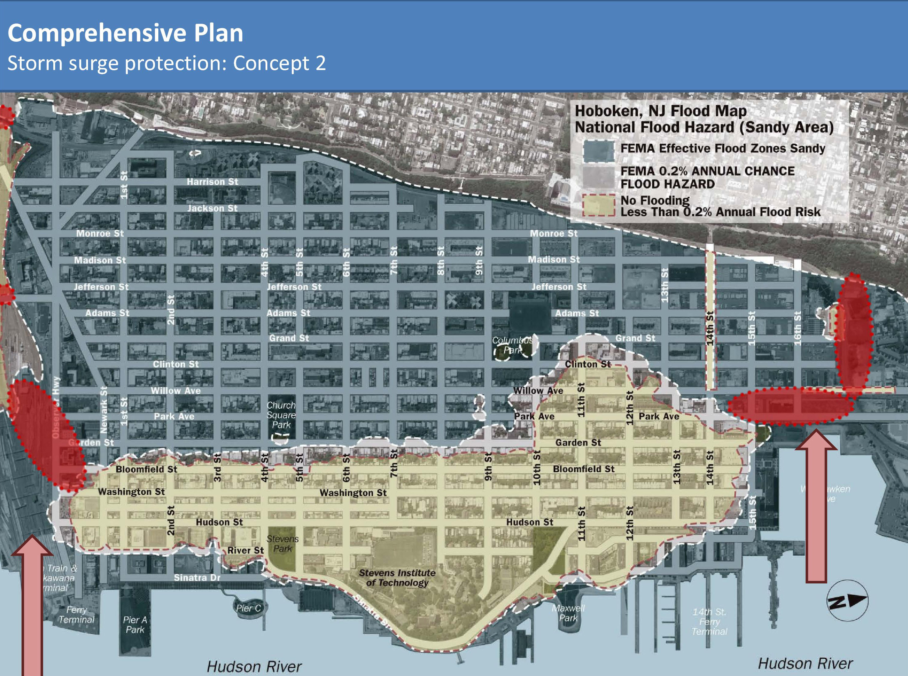 How Rising Sea Levels Are Threatening One Small American City - Nyc flood zone map pdf