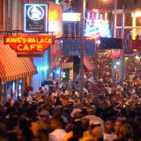 Beale Street in Memphis. Courtesy Downtown Memphis Commission.