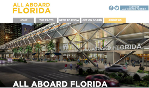 All About Florida web site: www.allaboardflorida.com