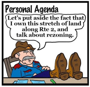Illustration by Marc Hughes for PlannersWeb - personal agendas.