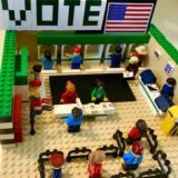 Lego citizens vote. So should you!